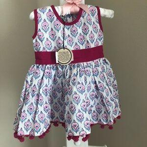 NWT paisley magic tassel dress!